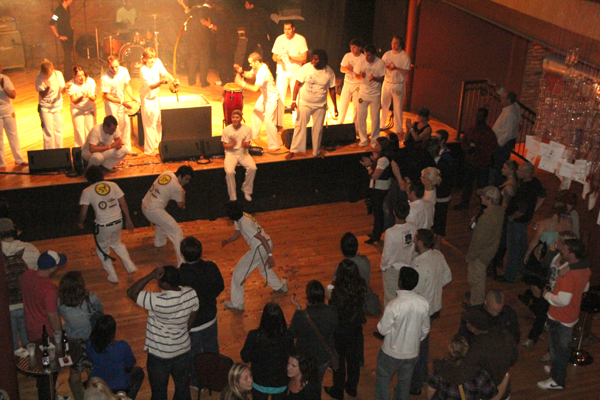 Capoeira at Emerge and See 2010