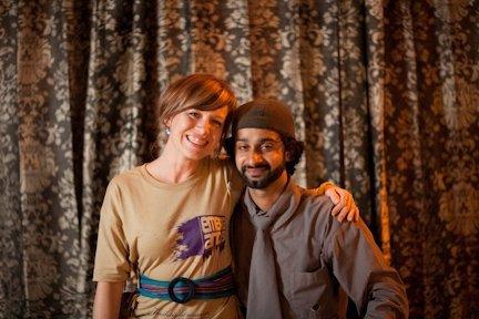 Tarun and Stephanie at Emerge and See 2009